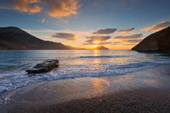 Amorgos island. Royalty Free Stock Photography