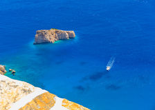 In Amorgos island in Greece Stock Photography