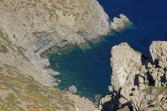 Amorgos island Greece Stock Photos