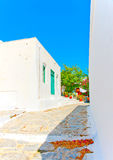 In Amorgos island in Greece Stock Images