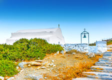 In Amorgos island in Greece Stock Image