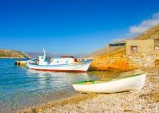 In Amorgos island in Greece Stock Photos