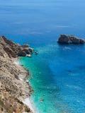 Amorgos island landscape Royalty Free Stock Images