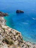 Amorgos island landscape Stock Image