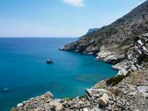 Amorgos island landscape Stock Photo