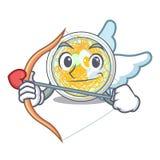 Amorka naengmyeon słuzyć na maskotki desce royalty ilustracja