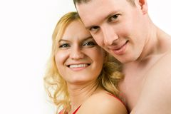 Amorous couple Royalty Free Stock Image