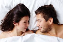 Amorous couple Royalty Free Stock Photos