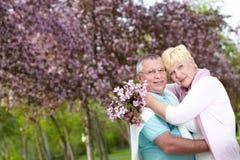 Amorous couple Royalty Free Stock Photos