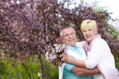Amorous couple Stock Images