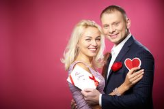 Amorous couple Stock Photo
