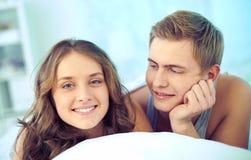 Amorous couple Royalty Free Stock Images