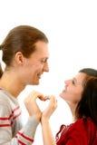 Amorous heart Stock Photo