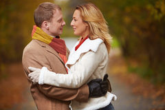 Amorous people Royalty Free Stock Photography
