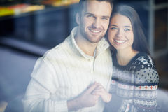 Amorous sweethearts Stock Photography
