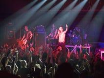 Amorphis exécute sur l'étape au club diesel Photographie stock libre de droits