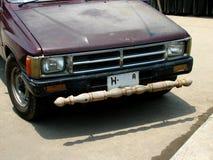 Amortecedor dianteiro de madeira Imagem de Stock Royalty Free