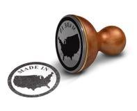 Amortecedor feito nos EUA ilustração do vetor