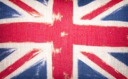 Amortiguador de Union Jack Foto de archivo libre de regalías