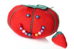 Amortiguador del contacto del tomate Fotografía de archivo