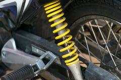 Amortiguadores de choque de la motocicleta Imagenes de archivo