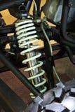 Amortiguadores de choque del coche de ATV Imagen de archivo libre de regalías