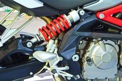 Amortiguadores de choque del coche de ATV Fotografía de archivo