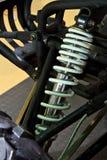 Amortiguadores de choque del coche de ATV Foto de archivo libre de regalías