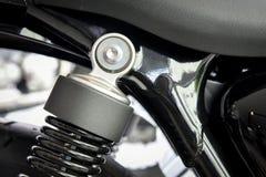 Amortisseur arrière de moto Images libres de droits