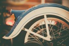 Amortisseur arrière de moto de vintage Image libre de droits