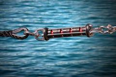 Amortisseur d'amarrage de dock Image libre de droits
