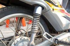 Amortisseur de moto Images libres de droits
