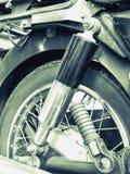 Amortisseur de moto Image libre de droits
