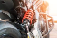 Amortisseur de véhicule à moteur Photographie stock libre de droits