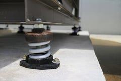 Amortisseur de vibration en service Photo stock