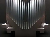 Amortisseur en aluminium de la chaleur Photos libres de droits