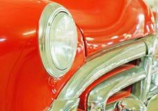 Amortisseur et capot de vieille voiture Image libre de droits