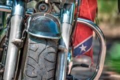 Amortisseur et pneu Photographie stock