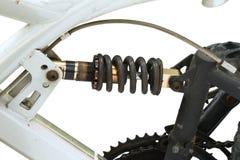 Amortisseur réglable sur la bicyclette Photo libre de droits