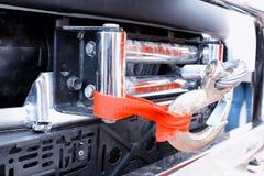 Amortisseur sur la voiture pour réduire la vibration Image stock