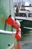 Amortisseurs de bateau Image libre de droits