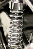 Amortisseurs de moto. Photos stock