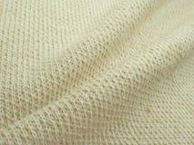 Amostra da textura de matéria têxtil Fotografia de Stock