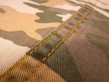 Amostra da textura de matéria têxtil Imagens de Stock