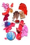 Amostra de folha cosmética imagens de stock