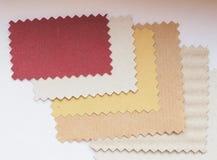 Amostra de folha de papel Imagens de Stock