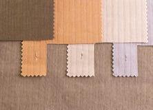 Amostra de matéria têxtil Foto de Stock Royalty Free