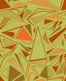 Amostra de um fundo com triângulos Fotos de Stock