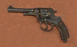 7 amostra Nagan do revólver de 62 milímetros, 1895 Imagem de Stock