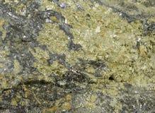 Amostra rica de minério polimetálico do cobre-ligação-zinco Foto de Stock
